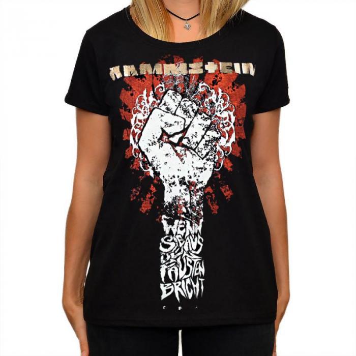 Tricou Femei Rammstein - Fist 0