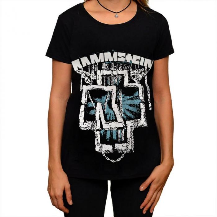 Tricou Femei Rammstein - In Chains 0