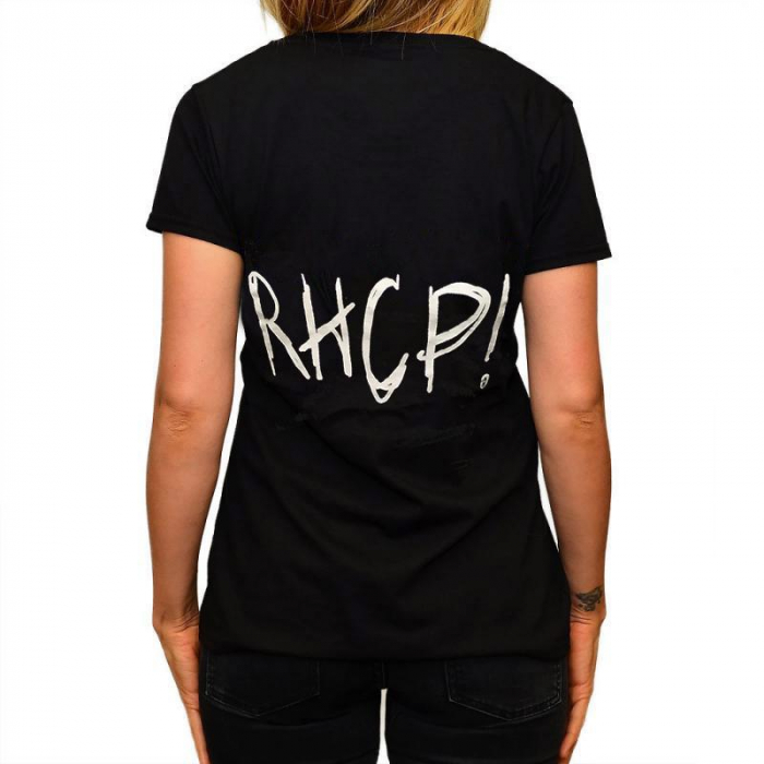 Tricou Femei Red Hot Chili Peppers - Faces Logo 1