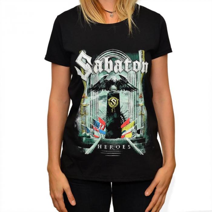 Tricou Femei Sabaton - HEROES 0