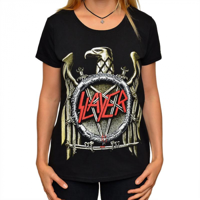 Tricou Femei Slayer-Eagle 0