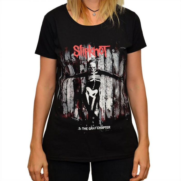 Tricou Femei SLIPKNOT -.5: THE GRAY CHAPTER 0
