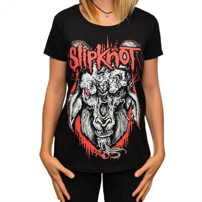 Tricou Femei Slipknot - Goat 0