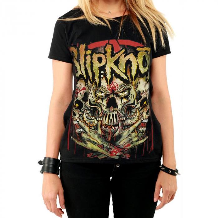 Tricou Femei Slipknot - Skull 0