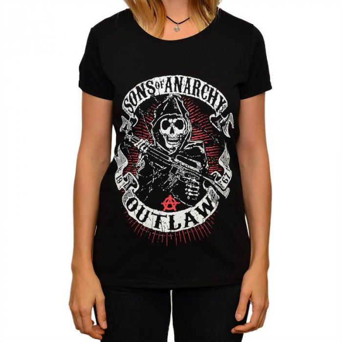 Tricou Femei Sons of Anarchy - Outlaw 0