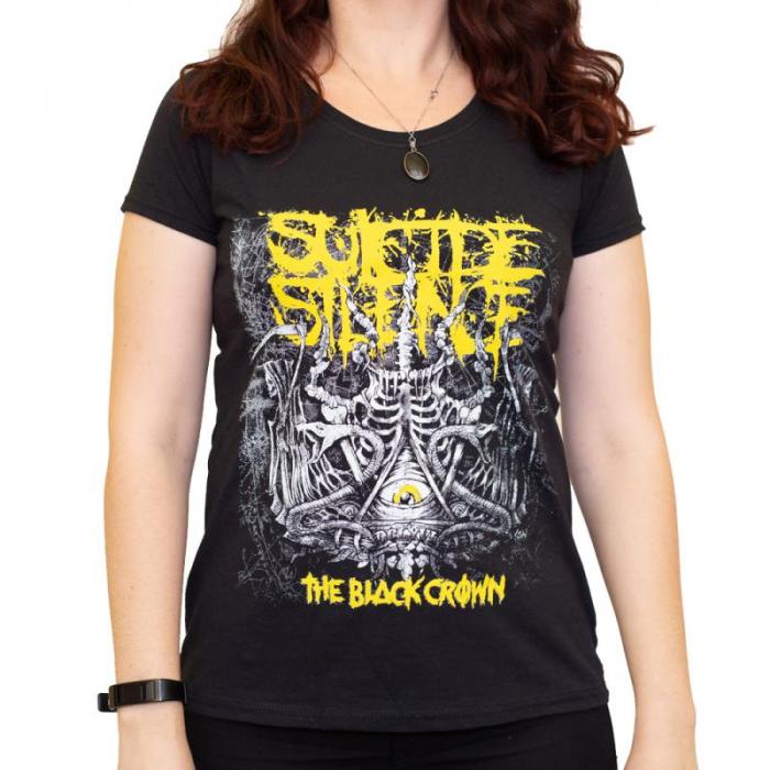 Tricou Femei Suicide Silence - The Black Crown 0