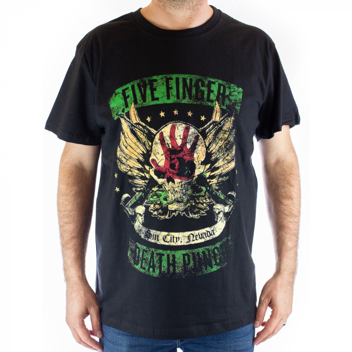 Tricou Five Finger Death Punch -Sin City Nevada - 180 grame [0]