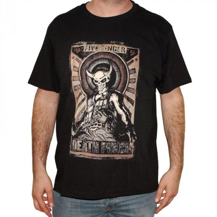 Tricou Five Finger Death Punch - Mercenary - 180 grame 0