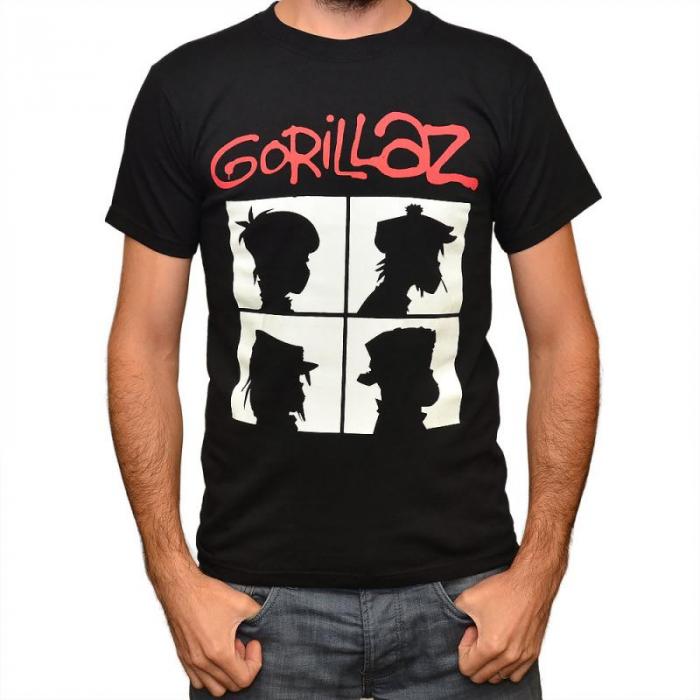 Tricou Gorillaz - Demon Days - 180 grame 0