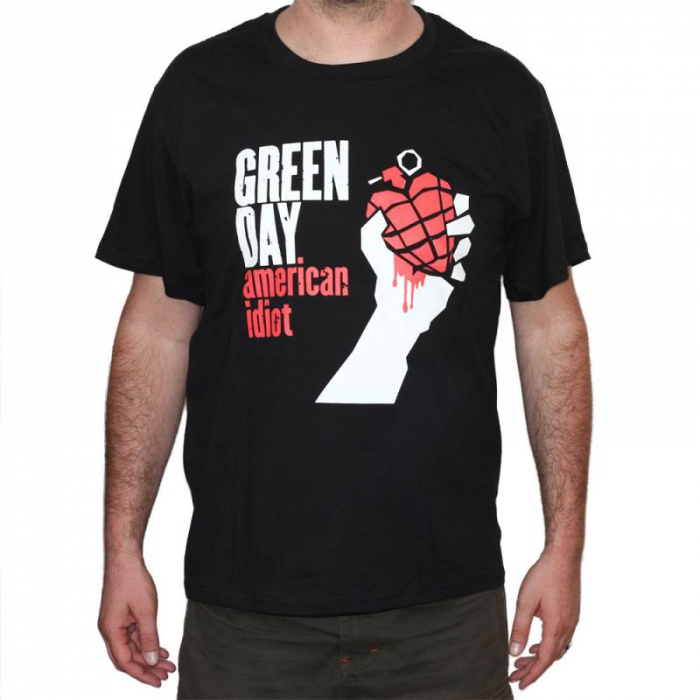 Tricou Green Day - American Idiot - 180 grame 0