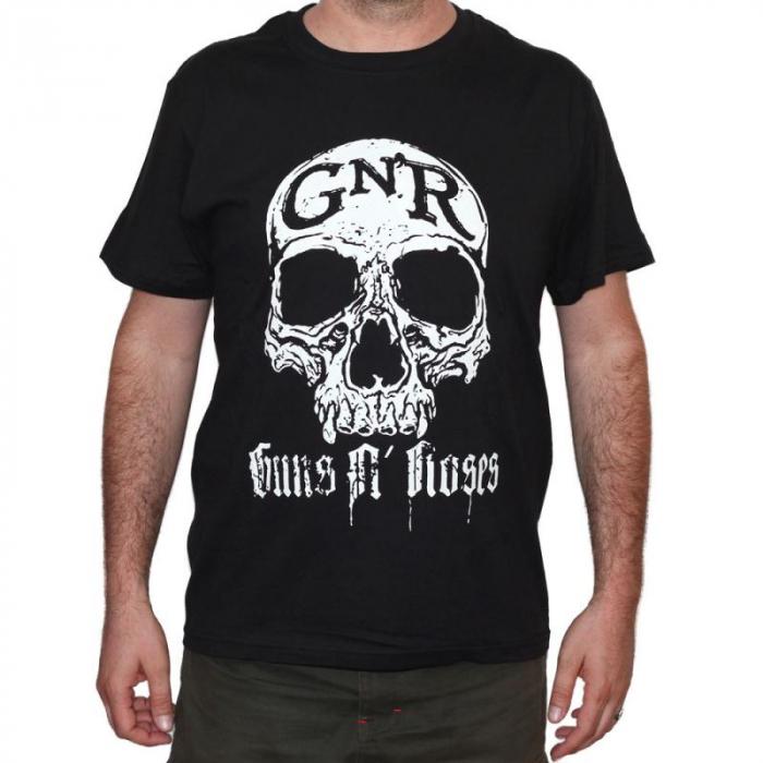 Tricou Guns N Roses - Skull - 180 grame 0