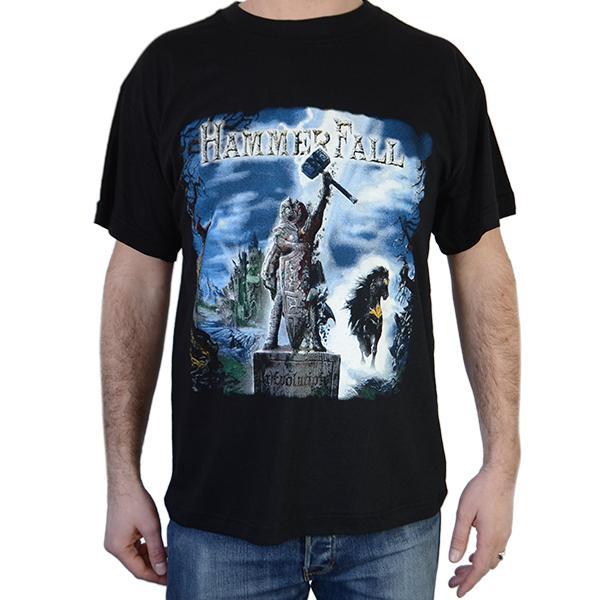 Tricou Hammerfall - (r)Evolution - 145 grame [0]