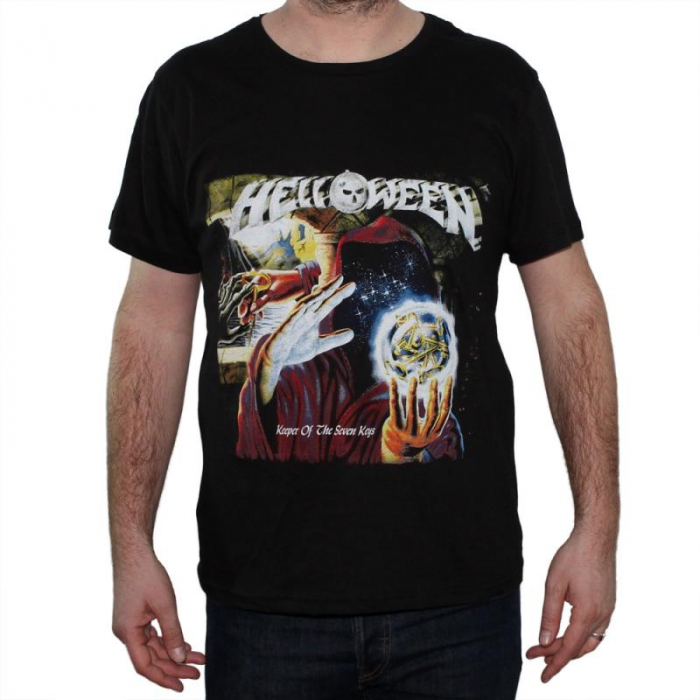 Tricou Helloween - Keeper Of The Seven Keys - 145 grame 0