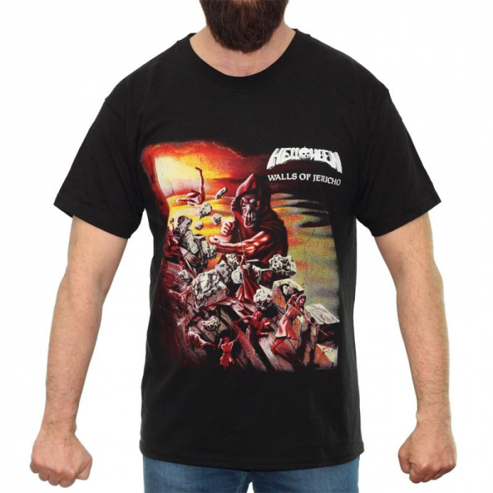 Tricou Helloween - Walls Of Jericho - Fruit Of The Loom [0]