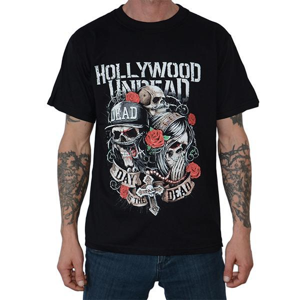 Tricou Hollywood Undead - Day of the Dead - 180 grame 0