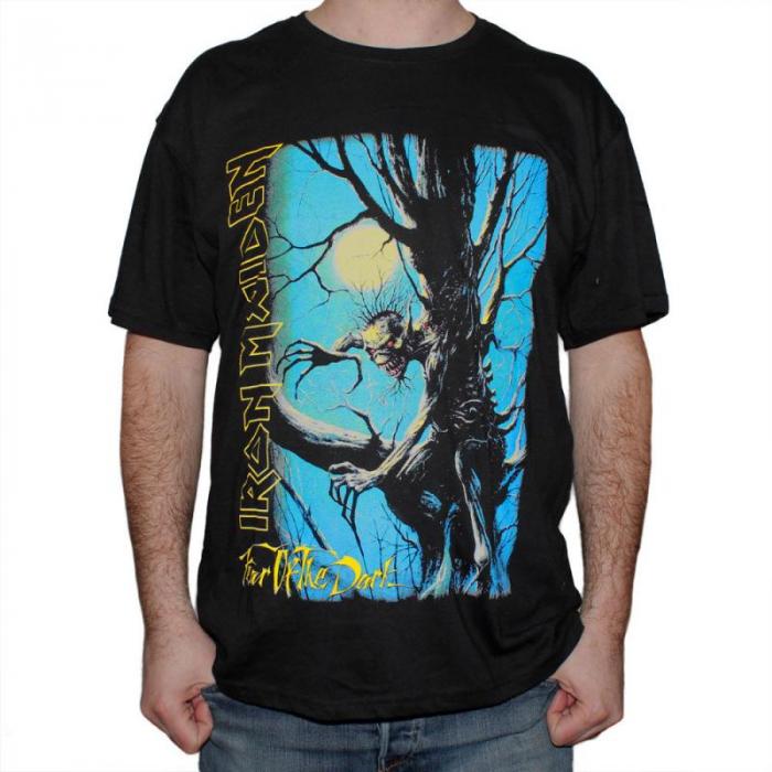 Tricou Iron Maiden - Fear of the Dark - 145 grame 0