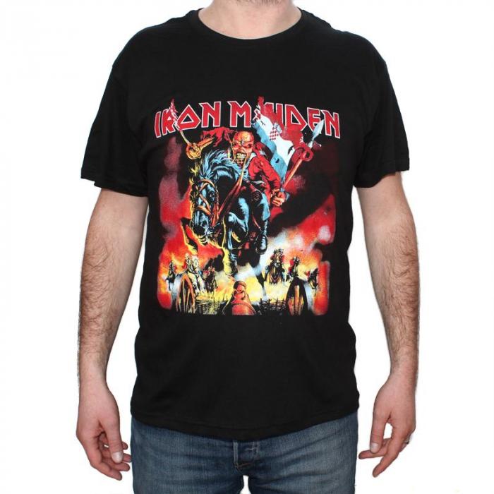 Tricou Iron Maiden - Horseman - 145 grame 0