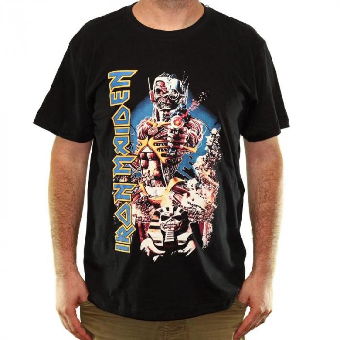 Tricou Iron Maiden - Somewhere In Time - 180 grame 0