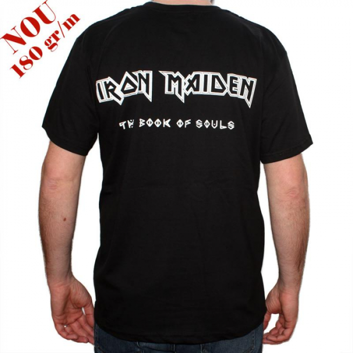 Tricou Iron Maiden - The Book of Souls - 180 grame 1