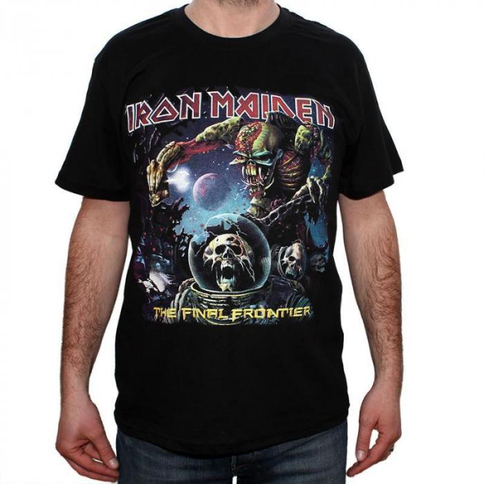 Tricou Iron Maiden - The Final Frontier - 180 grame 0