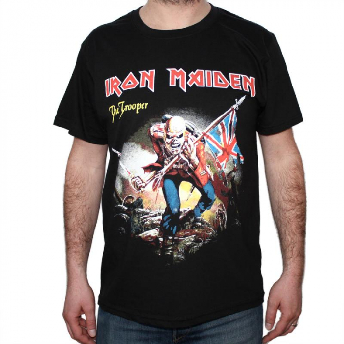 Tricou Iron Maiden - The Trooper - 180 grame 0