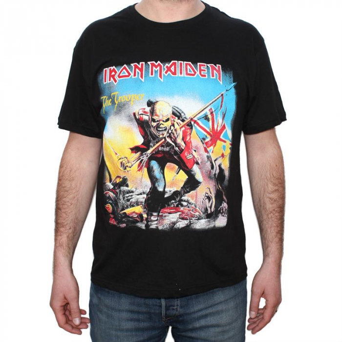 Tricou Iron Maiden - The Trooper 2 - 145 grame 0