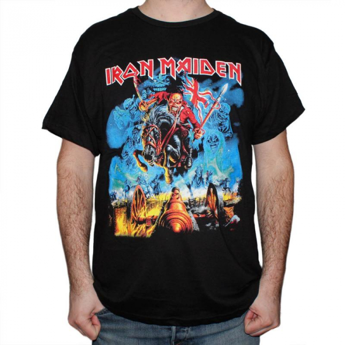 Tricou Iron Maiden - The trooper new - Fruit Of The Loom [0]
