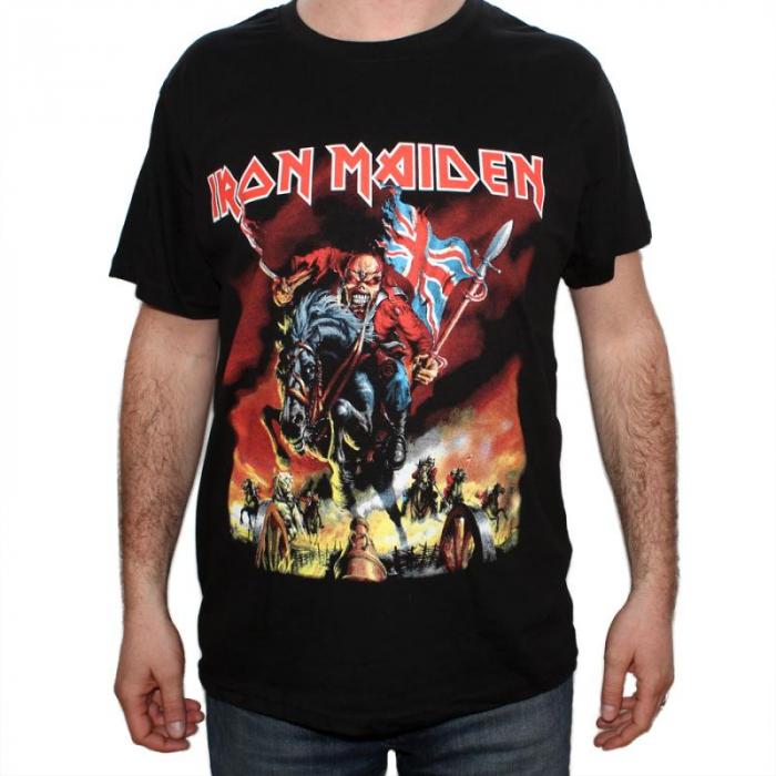 Tricou Iron Maiden - The trooper new - 180 grame 0