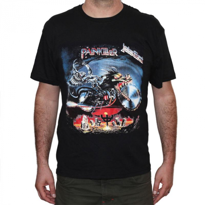 Tricou Judas Priest - PAINKILLER - 145 grame 0