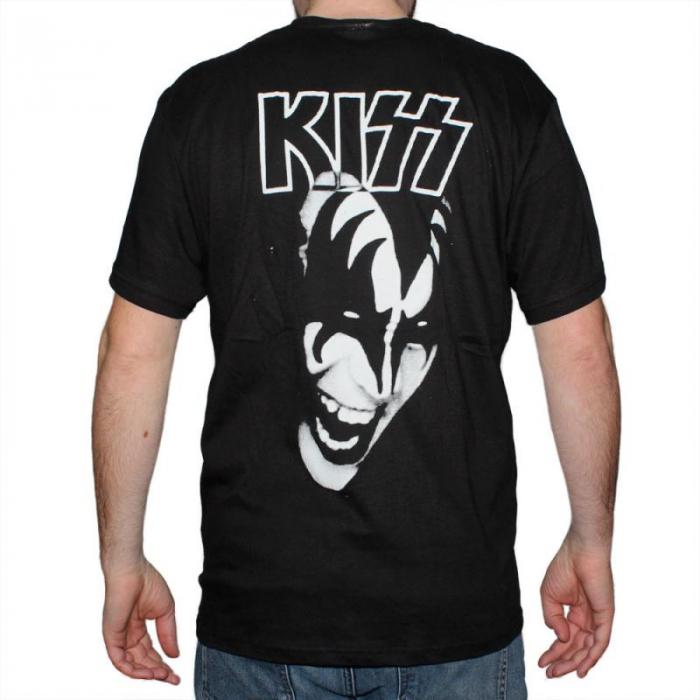 Tricou Kiss - White - 145 grame 1