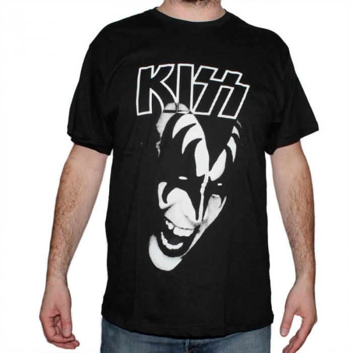 Tricou Kiss - White - 145 grame 0