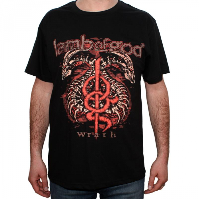 Tricou Lamb of god - Wrath - 180 grame 0