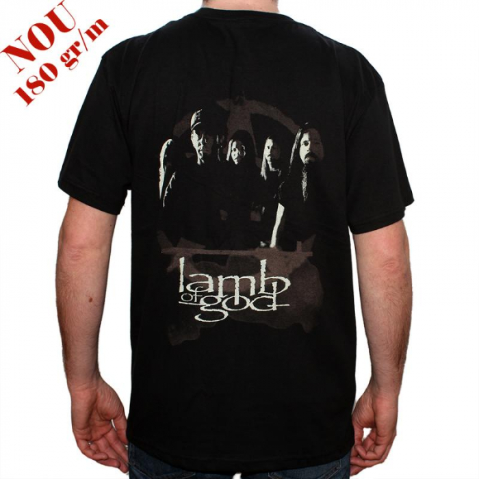 Tricou Lamb of god - Wrath - 180 grame 1