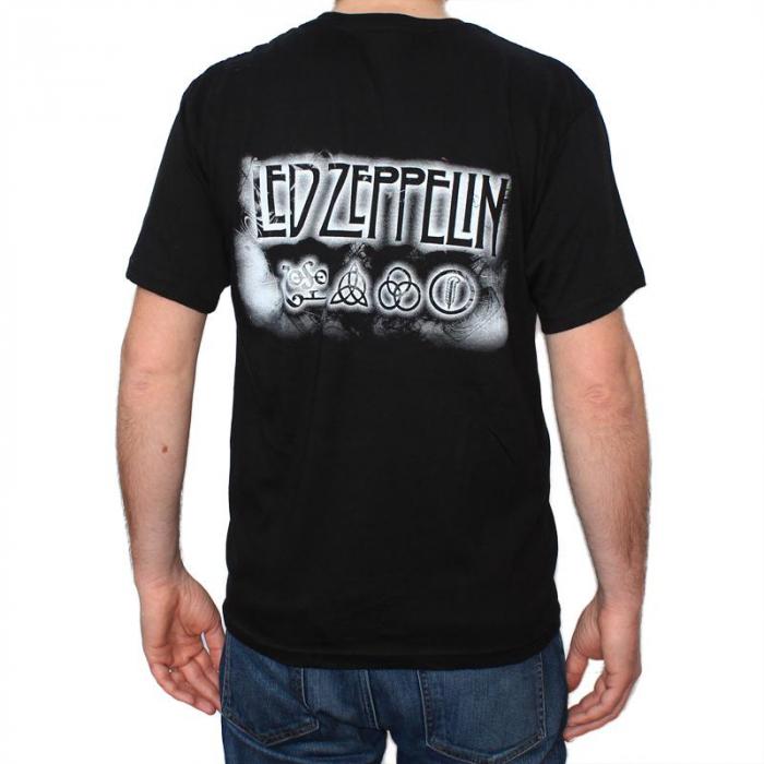 Tricou Led Zeppelin - Madison Square - 145 grame 1