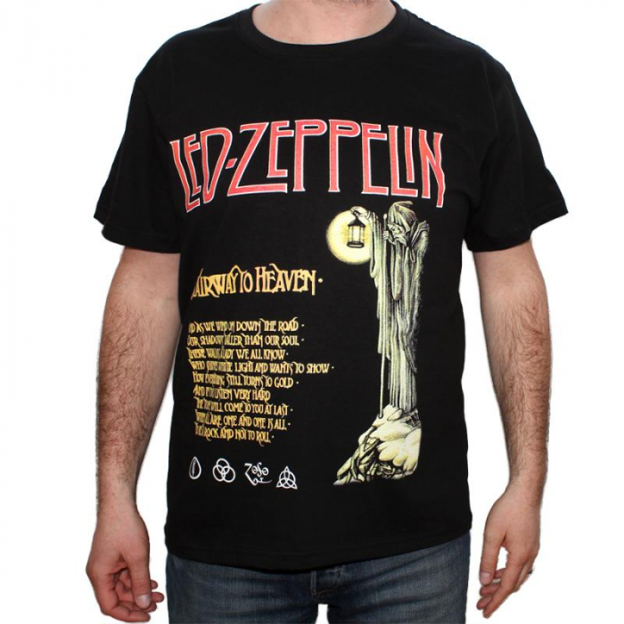 Tricou Led Zeppelin-Stairway to Heaven - 180 grame 0