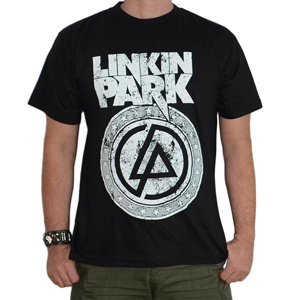 Tricou Linkin Park - White Logo - 180 grame 0