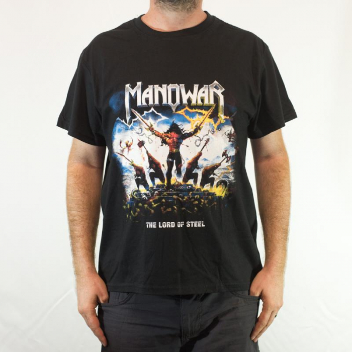 Tricou Manowar - The Lord of Steel 180 grame 0