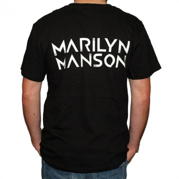 Tricou Marilyn Manson - Skulls - 180 grame 1