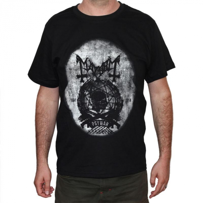 Tricou Mayhem - Psywar - 180 grame 0