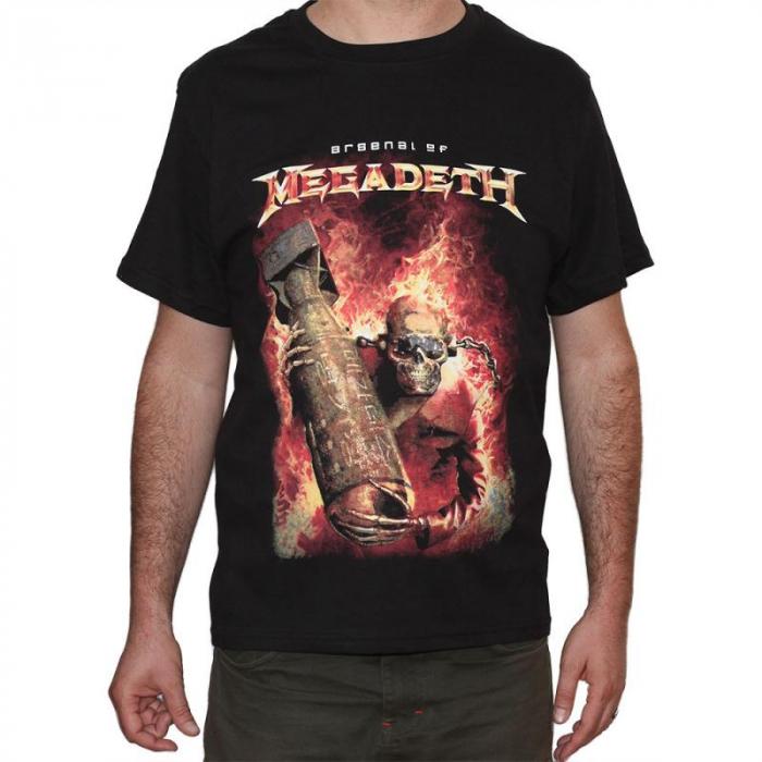 Tricou Megadeth - Arsenal - 180 grame 0