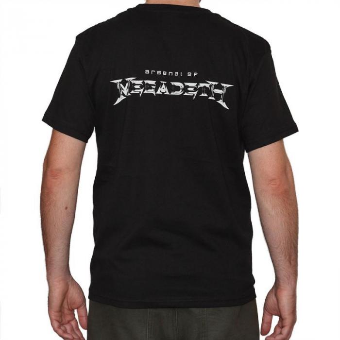 Tricou Megadeth - Arsenal - 180 grame 1