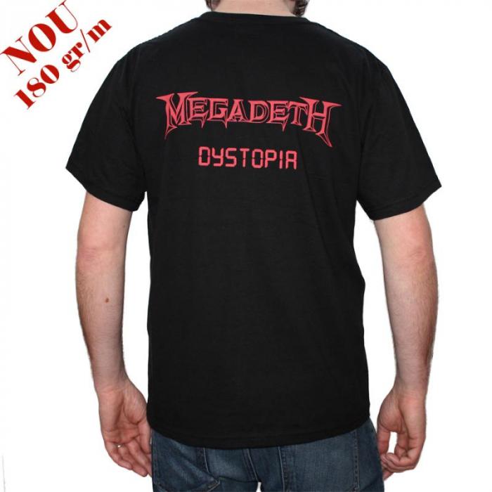 Tricou Megadeth - Dystopia - 180 grame 1