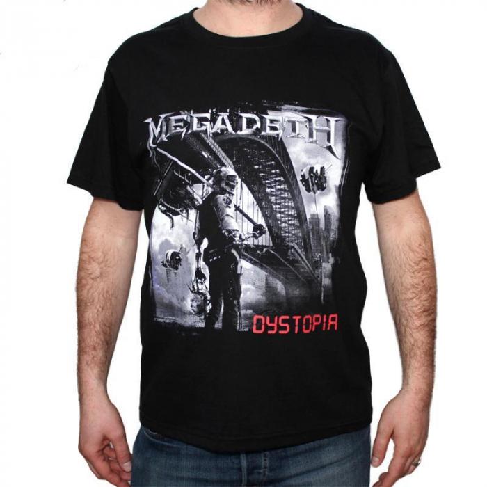 Tricou Megadeth - Dystopia - 180 grame 0