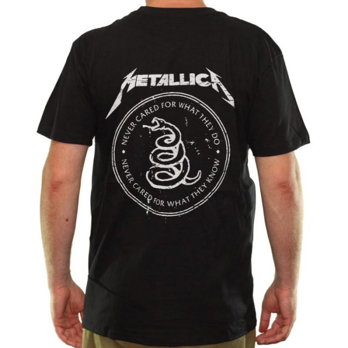 Tricou Metallica - Black Album 1