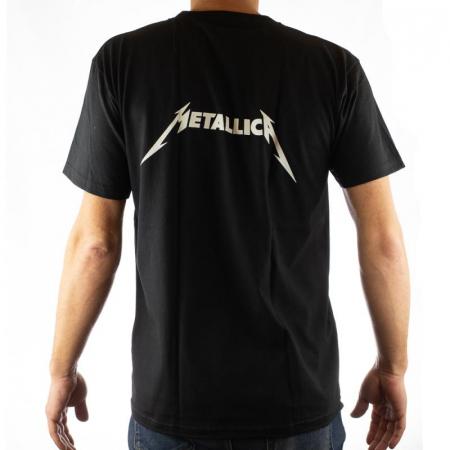 Tricou Metallica - Chitara electrica - 180 grame [1]