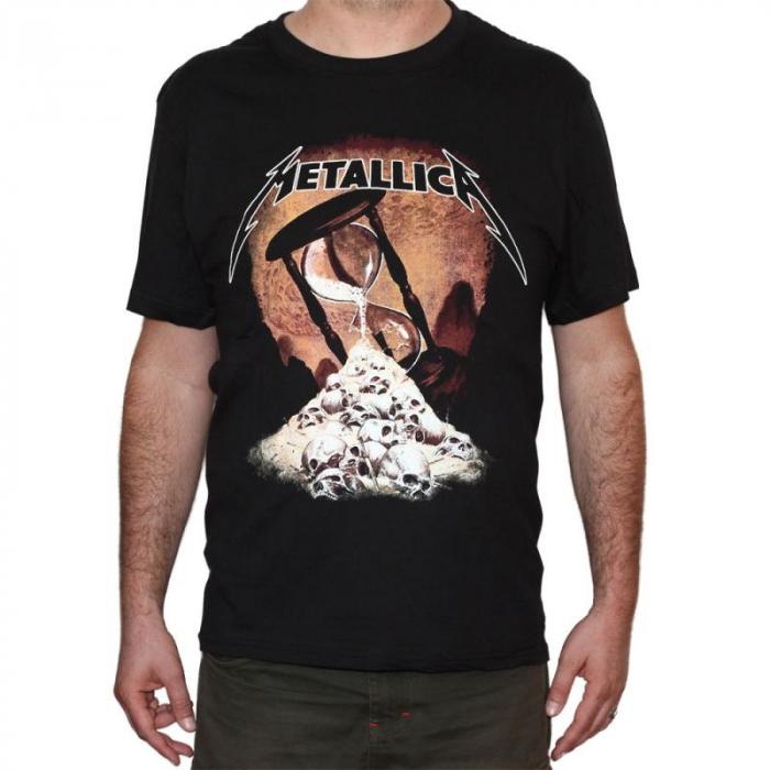 Tricou Metallica - Hourglass - 180 grame 0