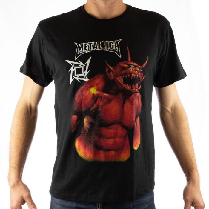 Tricou Metallica - Jump in the fire 2 marime - 145 grame 0