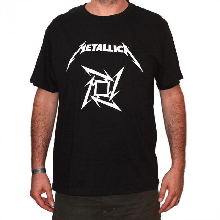 Tricou Metallica - LOGO - 180 grame [0]