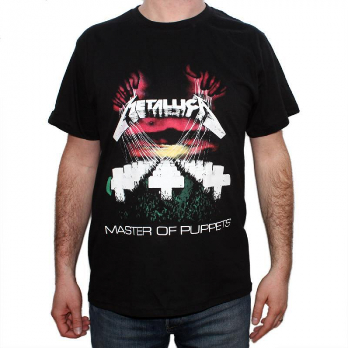 Tricou Metallica - Master of Puppets - 180 grame 0