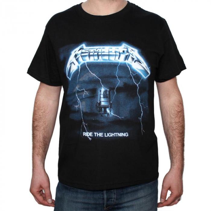 Tricou Metallica Ride The Lightning - 180 grame 0